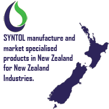 Syntol manufacture and market specialised products in New Zealand for New Zealand Industries
